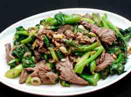 Sauteed Beef With Broccoli