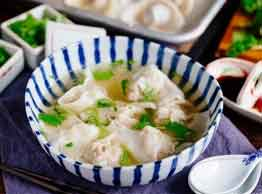 Shrimp & Pork Wonton Soup